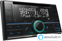 DPX-7200DAB - Autoradio-CD/USB 2DIN. Bluetooth et radio DAB+ intégrée, compatible Spotify & Amazon Alexa. 3 RCA (4,0V)