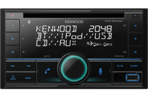 DPX-5200BT - 2DIN Autoradio-CD/USB met Bluetooth, Spotify, Amazon Alexa, Remote App - 2xRCA (2,5V).