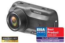 DRV-A501W - Wide Quad-HD-Dashcam mit 3-Achsen G-Sensor, GPS & Wireless Link