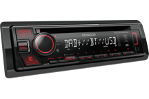 KDC-BT450DAB - Sintolettore CD/USB con Bluetooth e DAB+