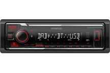 KMM-BT407DAB - Digitale media-ontvanger met Bluetooth en digitale radio DAB+.