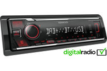KMM-BT407DAB - Digital Media Receiver con Bluetooth e Radio DAB