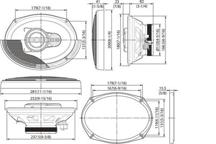 KFC-X712 - 7x10 3-smjerni Zvučnik s visokom izvedbom