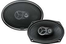 KFC-X712 - 7 x 10, 3-way High Performance Flush Mount Speaker System