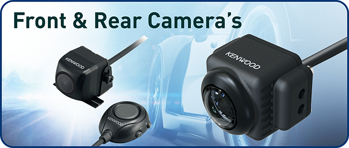 front & rear view cameras