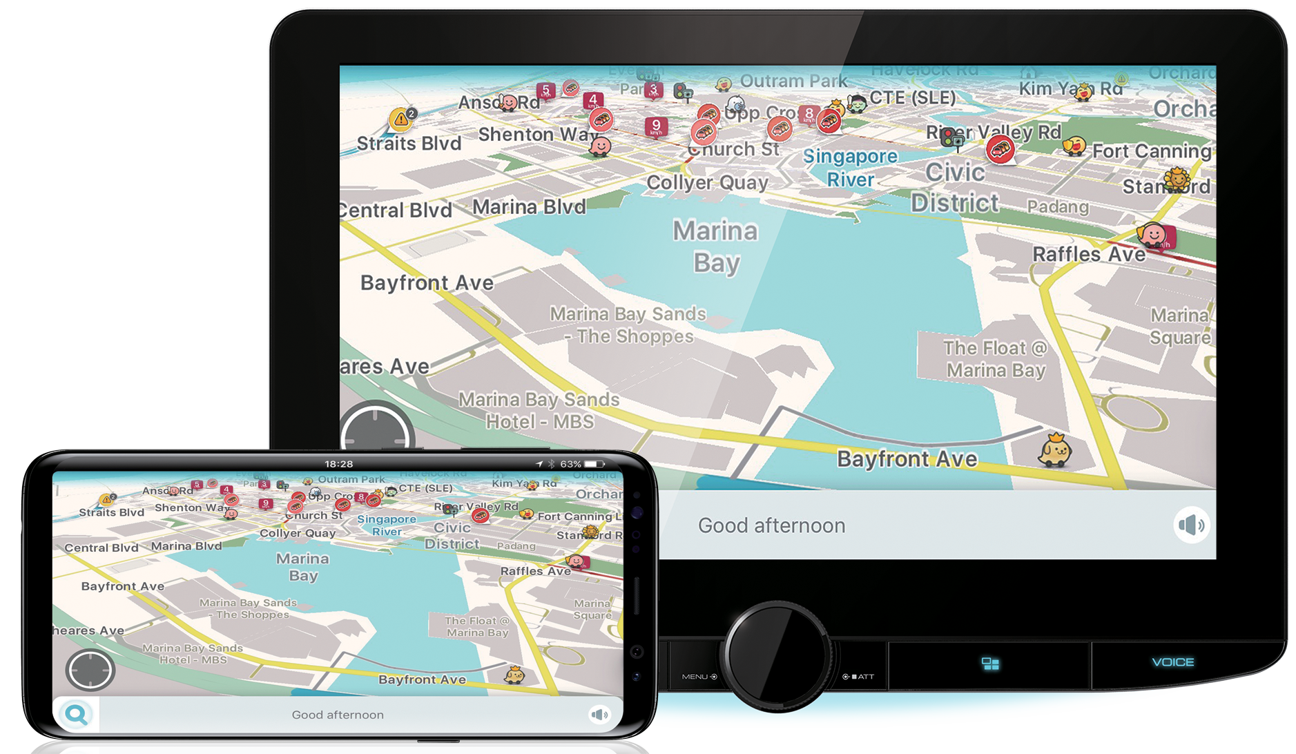 Wireless mirroring for Android