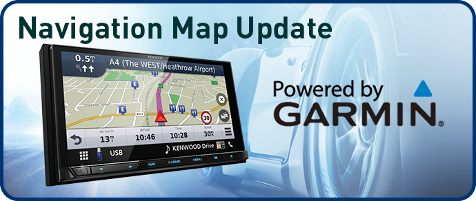 Kenwood navigation maps