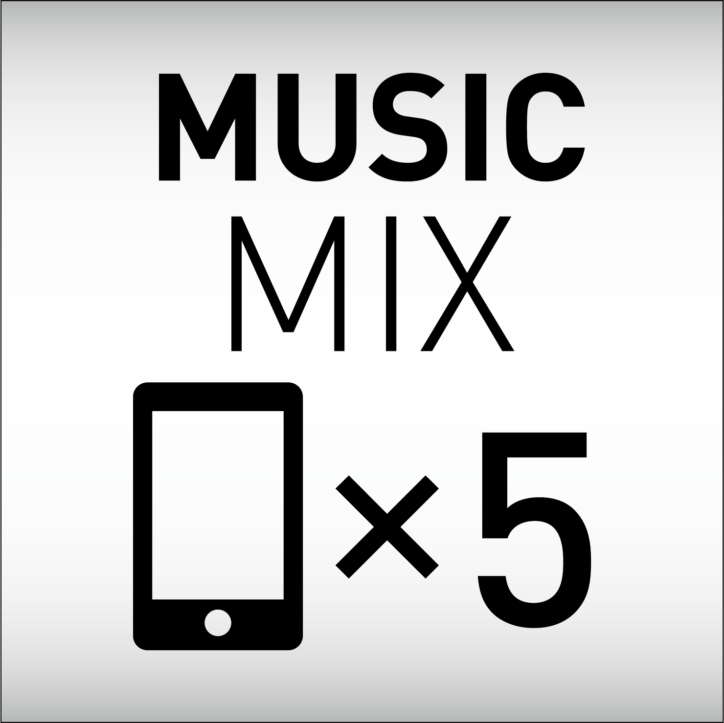 5 Phones Music Mix