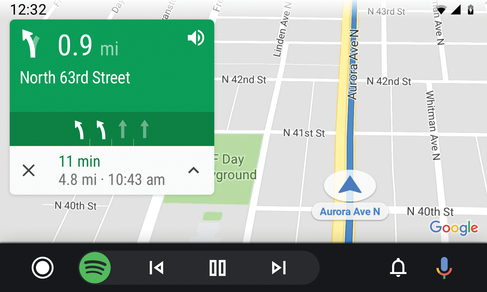 AndroidAuto_Navigation-screen