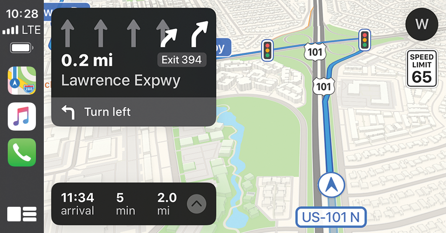 CarPlay-Navigation-screen