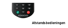 Kenwood in-car remote control