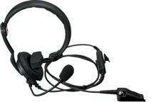 KHS-14 - Einseitiger Kopfhörer mit Lippenmikrofon (Inline-PTT)