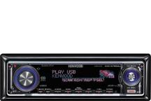 KDC-W7534UY - USB-AAC/WMA/MP3/CD-Receiver with Changer Control