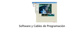 Software y Cables de programación