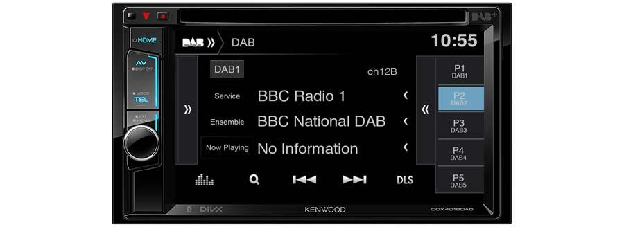 DDX4018DAB DAB digital tuner