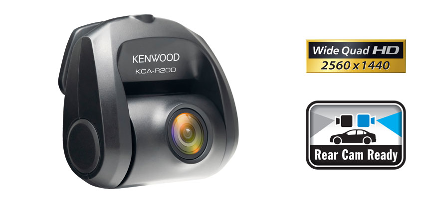KCA-R200 rear view dash cam DRV-A601W
