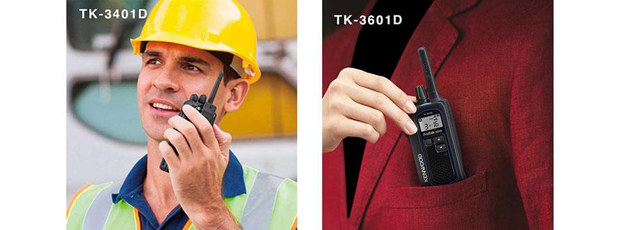 TK-3401D & TK-3601D ProTalk Radios