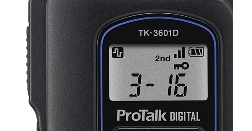 TK-3601D display