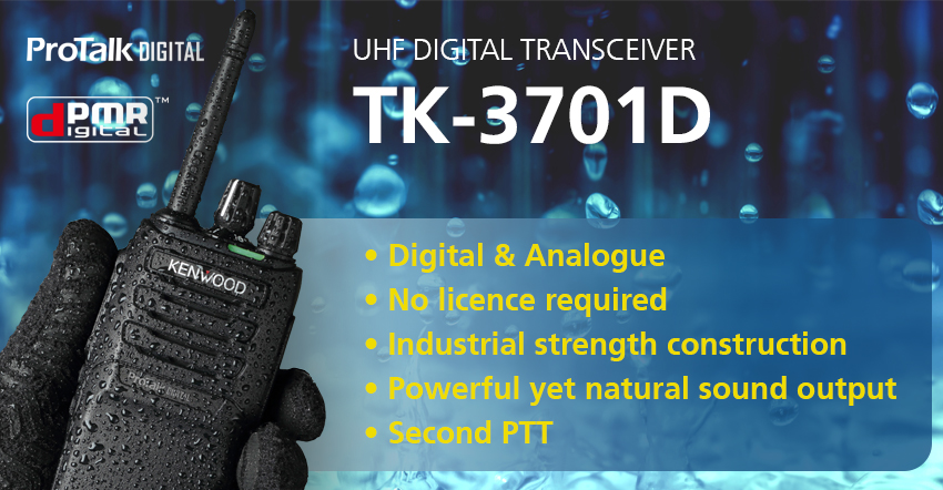 TK-3701D UHF Digital Transceiver