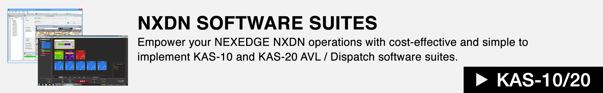 NXDN Software Suites - KAS-10/20