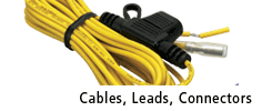Cables, Leads, Connectors