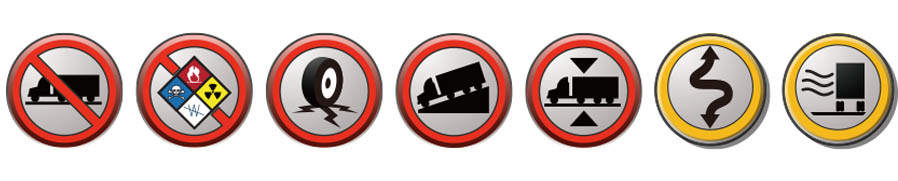 Truck Advisory Messages