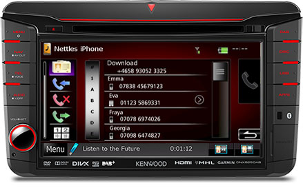 Volkswagen Bluetooth Kit Phonebook
