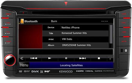 Volkswagen Bluetooth Kit Music Streaming
