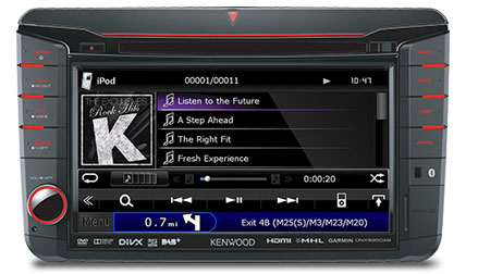 Volkswagen iPod iPhone music playback
