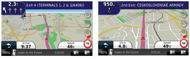 Volkswagen Navigation Lane Assist