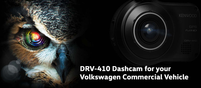 Dashboard Camera DRV-410 Kenwood