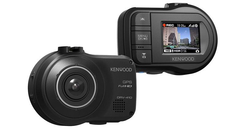 Dash camera DRV-410 by Kenwood