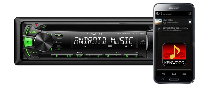 USB Car Stereo • KDC-164UG Features • KENWOOD UK