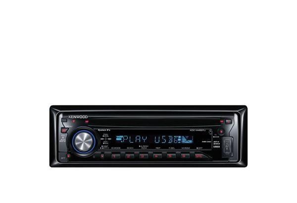 USB Car Stereo • KDC-W4537UA Specifications • KENWOOD UK