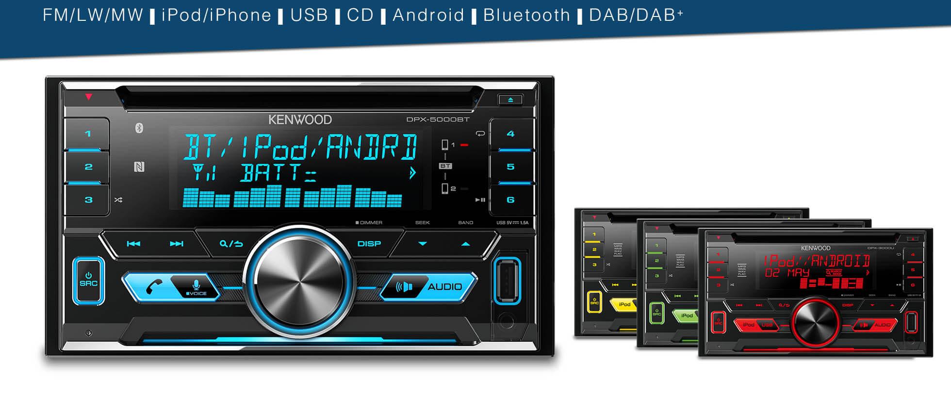 2DIN Car Stereo
