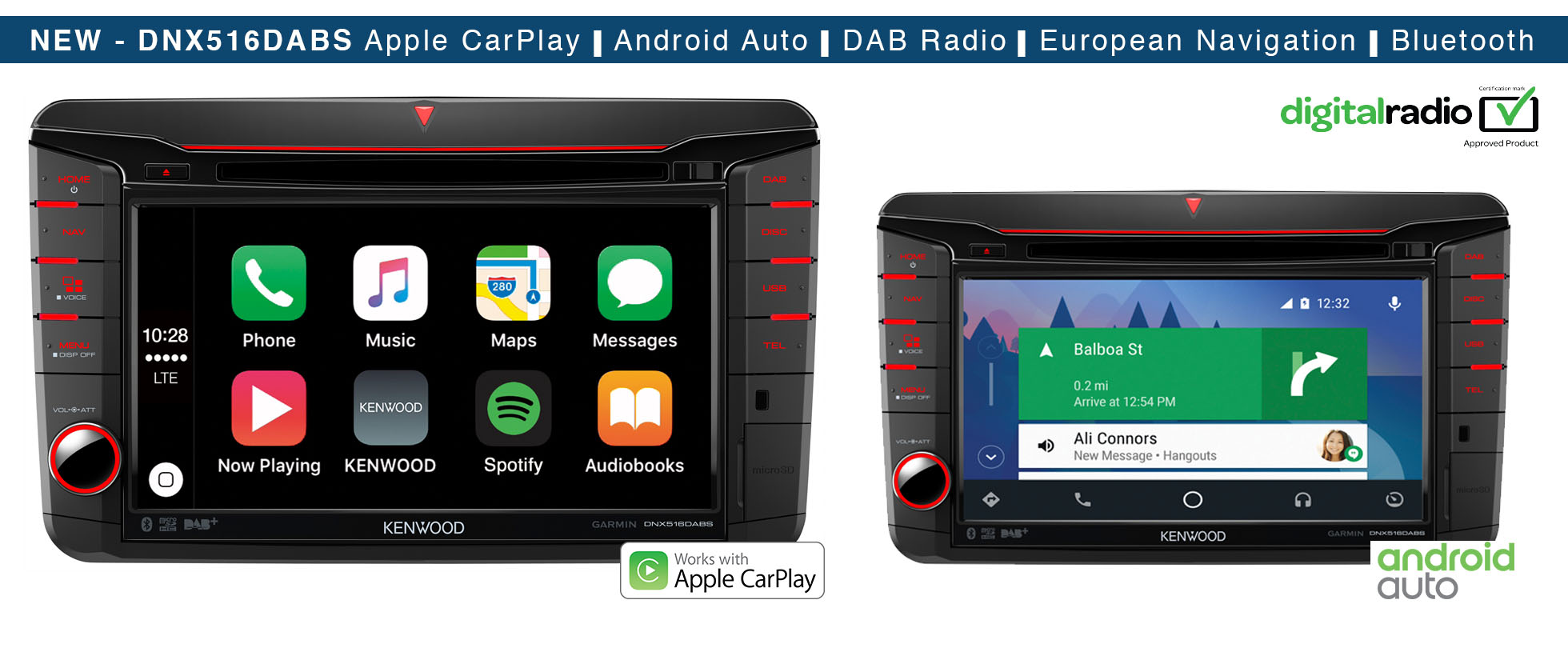 SEAT Apple CarPlay Android Auto Garmin Navigation System