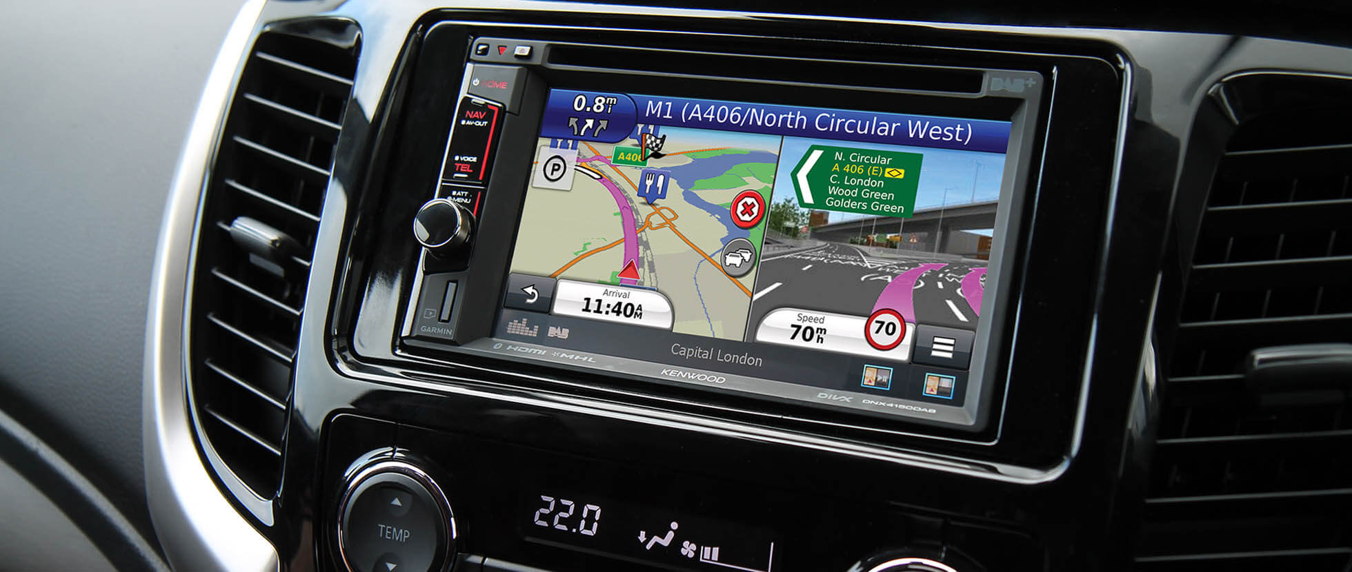 Fiat Professional Dnx4150dab Features Kenwood Uk