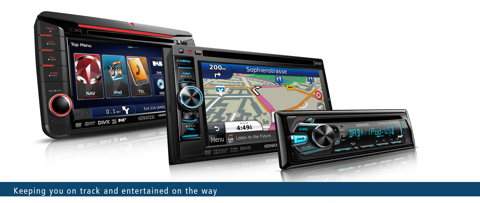 Sat Nav | Apple CarPlay | Android Auto | Car Audio | DAB Radio