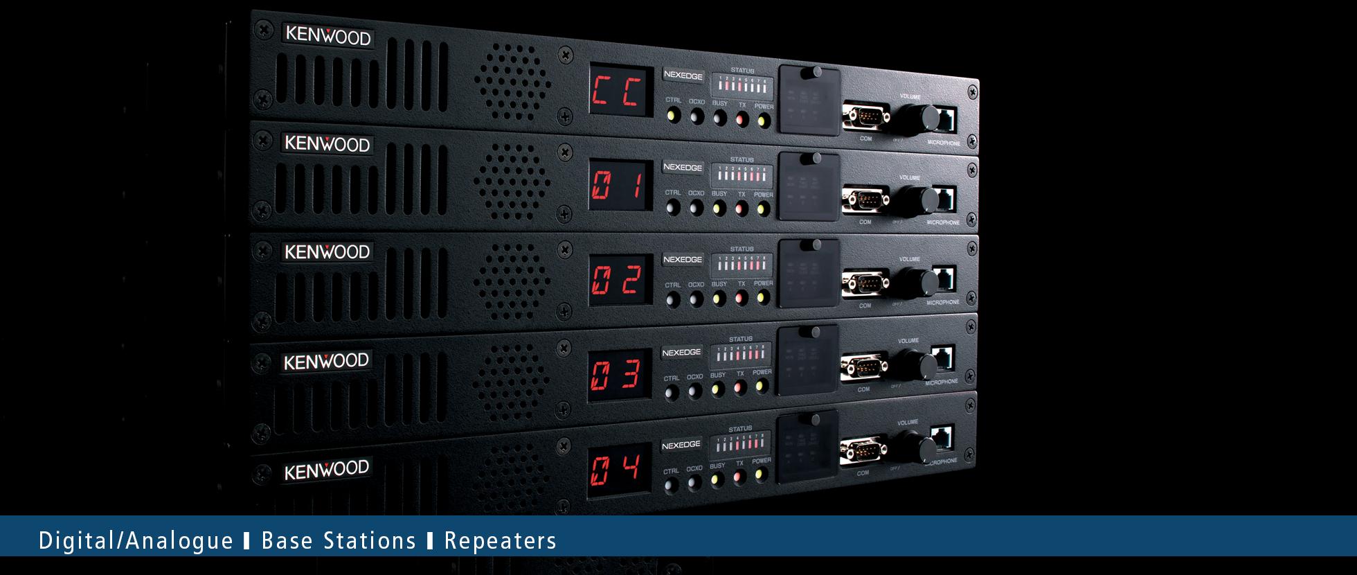 NEXEDGE NXDN | Digital VHF/UHF Repeater & Base Unit