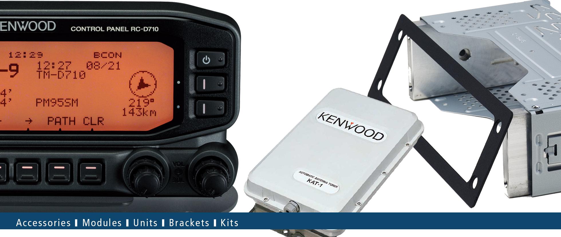 Modules | Units | Brackets | Kits • Kenwood Comms