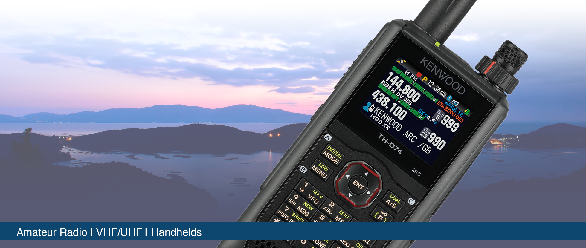 UHF & VHF Amateur Handheld receivers • Kenwood Comms