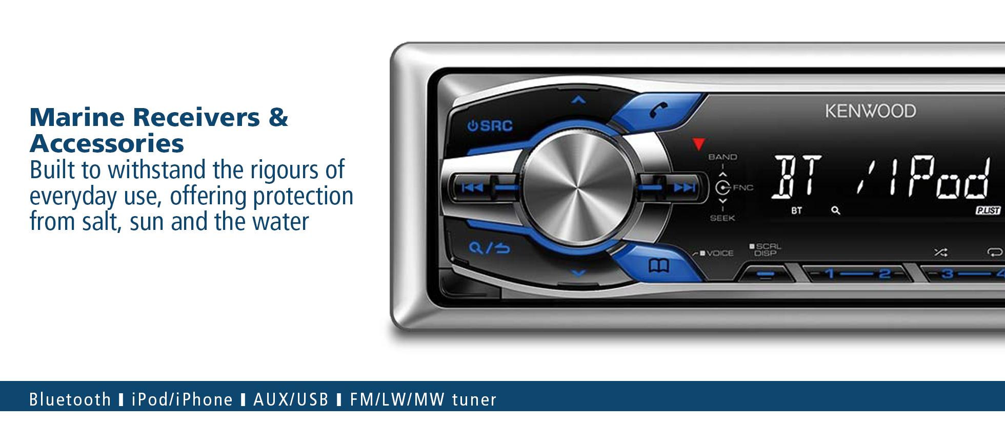 Marine AV | Marine Audio | Marine Sound System • Kenwood UK