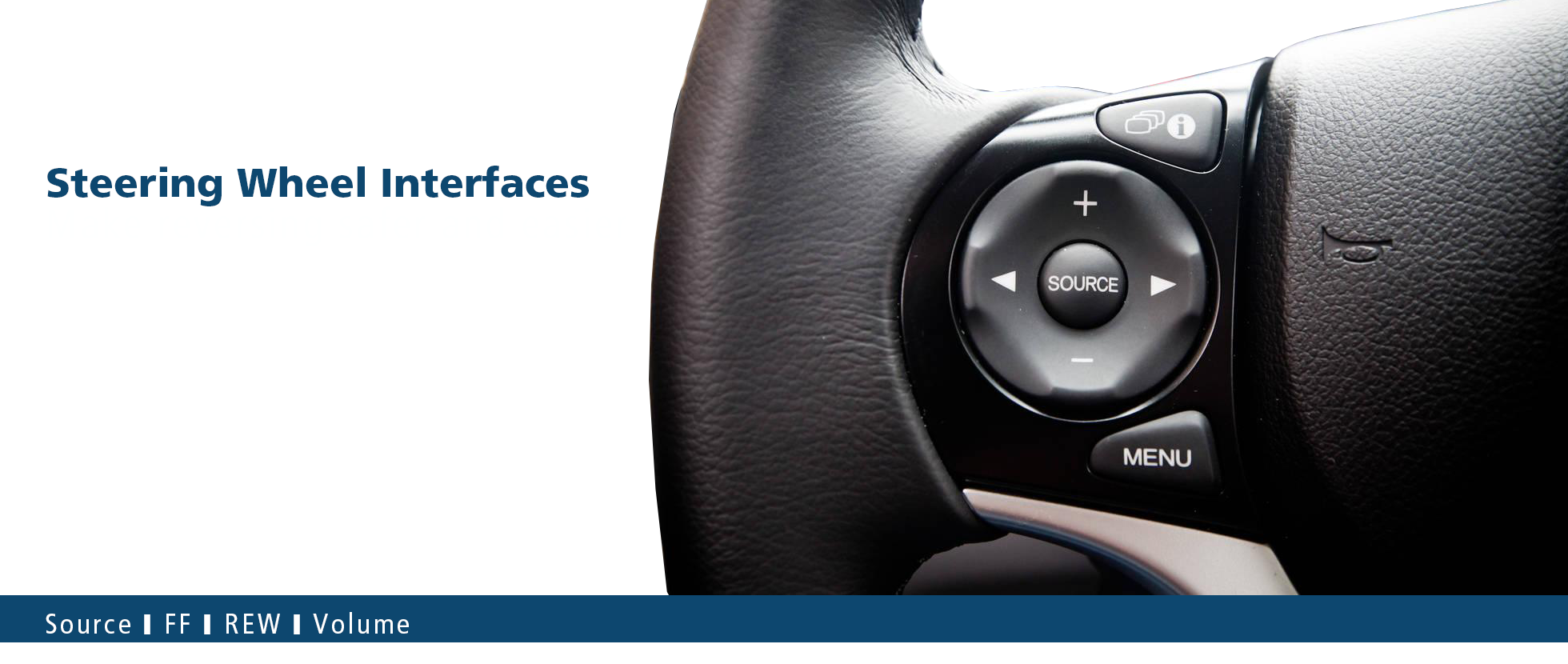 steering wheel control interfaces