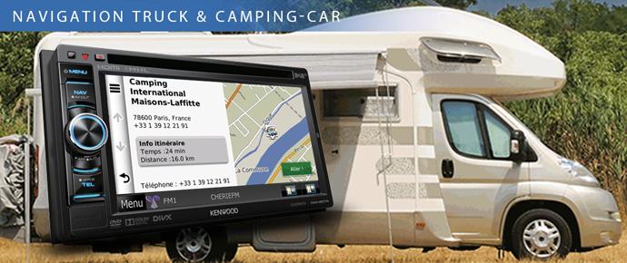 Navigation Camping-car & Camion