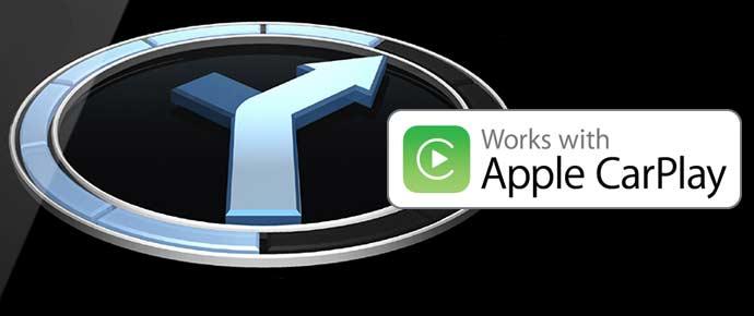 Built-in Sat Nav & Apple Carplay