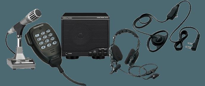 Microphones, Speakers, Headsets, Earpieces