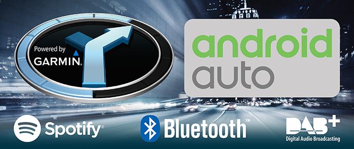 Navigatiesystemen met Android Auto ondersteuning