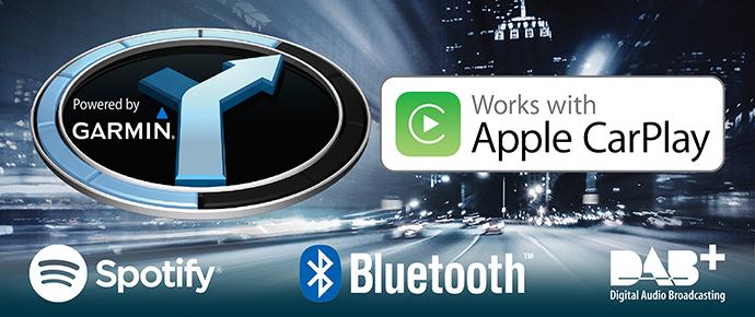 Navigatiesystemen met Apple CarPlay ondersteuning