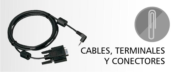 Cables, Terminales y Conectores