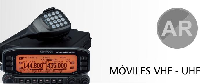 Moviles VHF/UHF